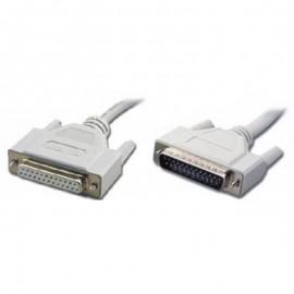 Câble Imprimante IEEE1284 DB25 Mâle vers DB25 Femelle 120500016400A 56cm NEUF