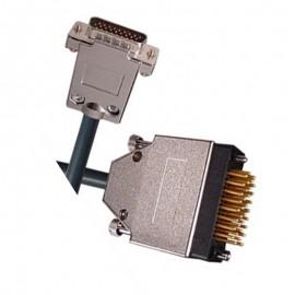 Câble Adaptateur Router V.35 M-end Mâle DTE Haute Densité CAB/XVF 3m Gris