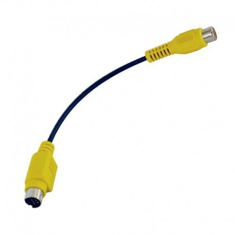Câble Adaptateur Externe S-Video 7-Pin RCA Vidéo Femelle 16cm HP 5185-8224 NEUF
