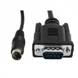 Câble Adaptateur Convertisseur Externe S-Video 4-Pin vers DB-9 Mâle 22cm