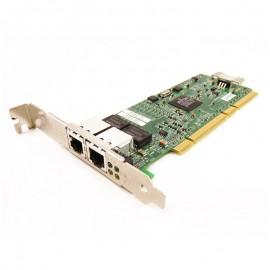 Carte Réseau IBM 39Y6095 NETXTREME 1000T PCI-X 133 2x Ethernet RJ45 Gigabit