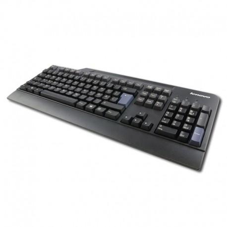 Clavier Azerty Noir USB Lenovo KB1021 FRU 54Y9411 PC Keyboard 104 Touches