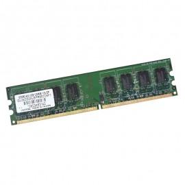 2Go RAM UNIFOSA GU342G0ALEPR692C6F1 240-Pin DIMM DDR2 PC2-6400U 800Mhz 2Rx8 CL6