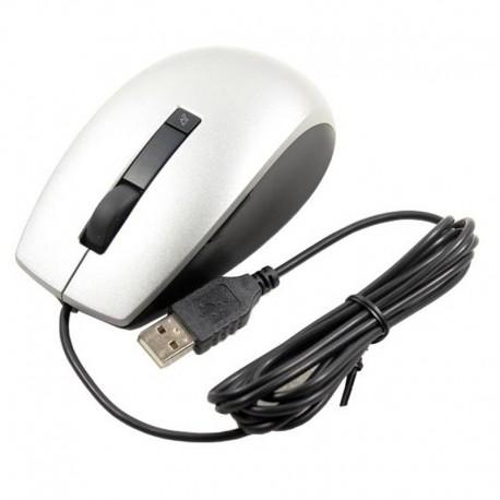 Souris Filaire USB DELL M-UAV-DEL8 K251D Gris Noir 6 Boutons DPI Ajustable