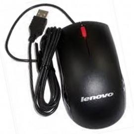 Souris USB Filaire Optique LENOVO M-U0025-O 45J4888 Noire 3 Boutons 1000 DPI