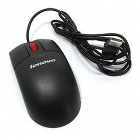 Souris USB Filaire Optique LENOVO MO28UOL 41U3012 41U3013 Noire 3 Boutons 800DPI