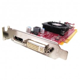 Carte Graphique ATI Radeon HD4550 512Mo 0C7MG0 PCIe DVI Display Port Low Profile