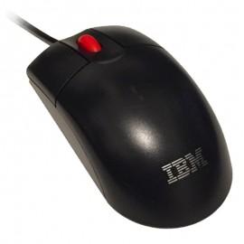 Souris USB Filaire Optique IBM MO28UO 89P5088 89P5089 Noire 3 Boutons Mouse PC