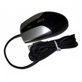 Souris Optique Filaire USB ACER N12ROU MS.N1204.001 3 Boutons Noir Argent Mouse