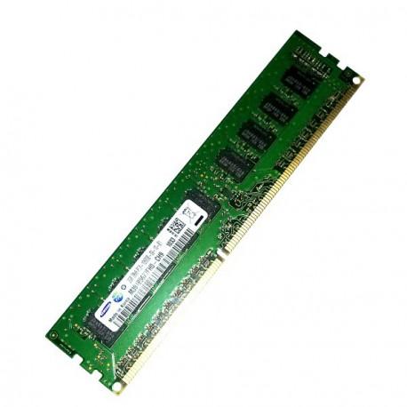 RAM Serveur DDR3-1333 Samsung PC3-10600E 2GB Unbuffered ECC CL9 M391B5673FH0-CH9