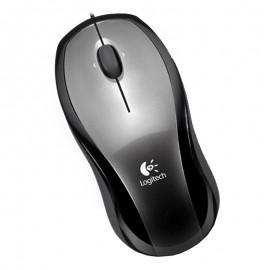 Souris Optique USB Logitech LX3 M-BW112A 831839-0000 3 Boutons Gris Noir Mouse