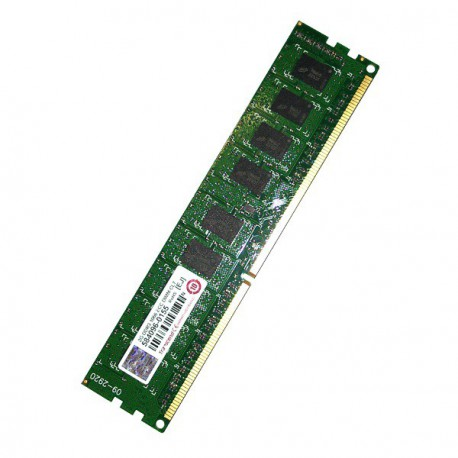 RAM Serveur DDR3-1066 Transcend PC3-8500 2GB Unbuffered ECC CL7 TS256MLK72V1U