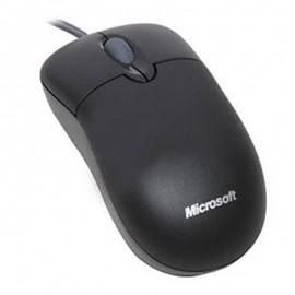 Souris Optique Filaire USB Microsoft X800898 3 Boutons Gris Foncé PC Mouse