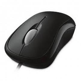 Souris Optique Filaire USB Microsoft MSK-1113 3 Boutons Gris Foncé PC Mouse
