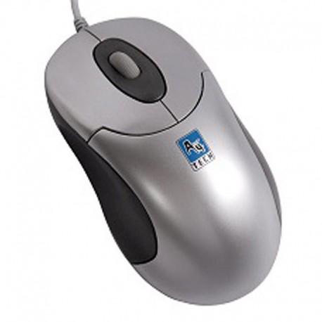 Souris Optique Filaire USB A4Tech SWOP-48 3 Boutons Gris Argenté 800DPI PC Mouse