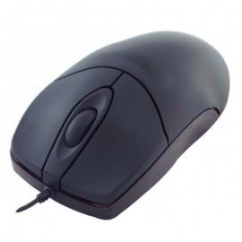 Souris Optique Filaire PS/2 DACOMEX 571941 3 Boutons Noir 600-DPI PC Mouse
