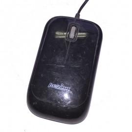 Souris Optique Filaire USB PERIXX BD-3207 3 Boutons Noir PC Mouse