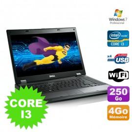 """PC Portable 15.6"""" Dell Latitude E5510 Core I3-330M 2.13Ghz 4Go Disque 250Go W7"""
