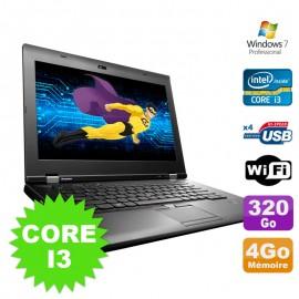 """PC Portable 15.6"""" Lenovo ThinkPad L530 Core I3-2370M 2.4Ghz 4Go Disque 320Go W7"""
