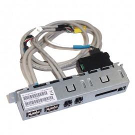 Front Panel 2x USB HP 657122-001 Audio IN/OUT Lecteur Carte HP Pro 3400 3500 MT