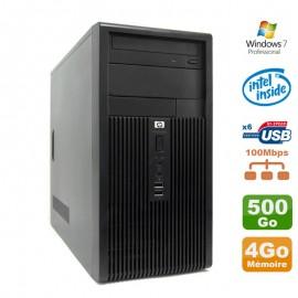 Pc Tour HP DX2300 MT Intel Dual Core 341 2.93Ghz 4Go Disque Dur 500Go SATA Win 7