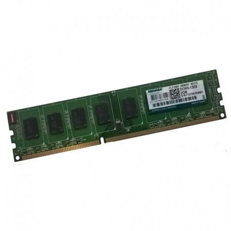 2Go RAM PC Bureau KINGMAX FLFE85F-B8MH9 240-Pin DIMM DDR3 PC3-10600U 1333Mhz