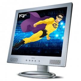 "Ecran PC Pro 19"" Belinea 10 19 06 LCD TFT MVA VGA 2x RCA Audio 1280x1024 5:4"