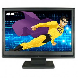 "Ecran PC Pro 22"" DGIM L-2231WD LCD TFT TN VGA DVI Audio IN 1680x1050 VESA 16:9"