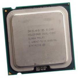 Processeur CPU Intel Celeron Dual Core E1200 1.6Ghz 512Ko 800Mhz LGA775 SLAQW PC