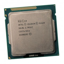 Processeur CPU Intel Celeron G1620 2.7Ghz 2Mo 5GT/s LGA1155 Dual Core SR10L