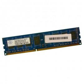 2Go RAM PC NANYA NT2GC64B8HA0NF-CG DIMM 240PIN DDR3 PC3-10600U 1333Mhz 2Rx8 CL9