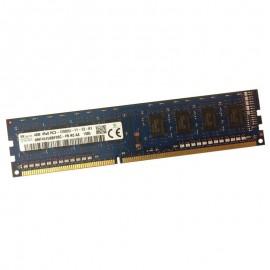 4Go RAM PC Bureau HYNIX HMT451U6BFR8C-PB DIMM DDR3 PC3-12800U 1600Mhz 1Rx8 CL11