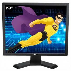 """Ecran Plat PC 19"""" DELL P190Sb 0C4D1G LCD VGA DVI Hub 4xUSB-A 1xUSB-B 1280x1024"""