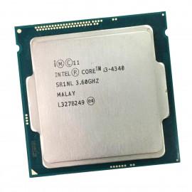 Processeur CPU Intel Core I3-4340 3.6Ghz SR1NL LGA1150 4Mo 5GT/s