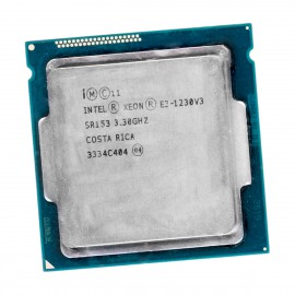 Processeur CPU Intel Xeon E3-1230V3 SR153 3.30Ghz LGA1150 Quad Core Haswell