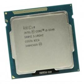 Processeur CPU Intel Core I5-3340 3.1Ghz 6Mo SR0YZ 5GT/s LGA1155 Quad Core