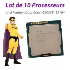 Processeur CPU Intel Pentium Dual-Core G2030T SR164 2.6Ghz 3Mo Socket LGA1155