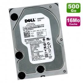 "Disque Dur 500Go SATA 3.5"" WD DELL WD5002ABYS-18B1B0 0M020F M020F 7200RPM 16Mo"