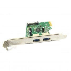 Carte HP Interconnect CHI314PCB-2 607782-001 608151-001 PCIe x1 2x USB 3.0 SATA