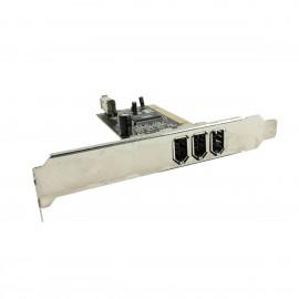 Carte PCI 2+1x Ports Firewire IEEE1394a VIA CPVT1394-4P