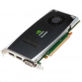 Carte PNY NVIDIA Quadro FX1800 508284-001 519296-001 DVI-I 2x DisplayPort PCIe