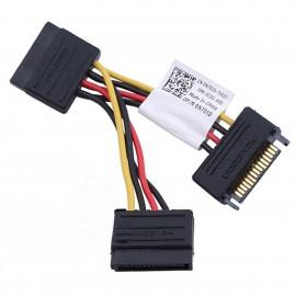 Câble Doubleur 2x SATA Dell 0N701D N701D 3020 7020 9020 Adaptateur Alimentation