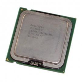 Processeur CPU Intel Celeron D 325J 2.53Ghz 256Ko 533Mhz Socket 775 SL7TL