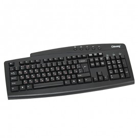 Clavier AZERTY Noir PS/2 Chicony KB-0173 PC Keyboard 104 Touches