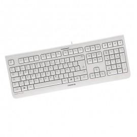 Clavier Azerty Blanc USB Cherry JG-08 JK-0800FR-0/01 PC Keyboard 104 Touches