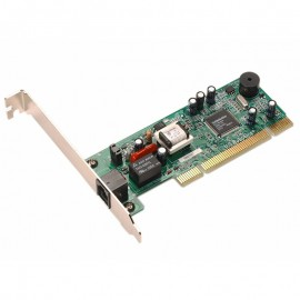 Carte Modem 56K USRobotics USR805671 M68P160237 DATA FAX PCI Equerre Longue
