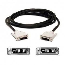 Câble DVI-D Ecran Plat NUMERIQUE Digital Visual Male/Male 1.50m Ferrite