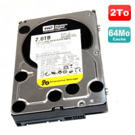 Disque Dur 2To SATA II 3.5 WD Enterprise Storage RE4-GP WD2002FYPS-01U1B1 7200RPM