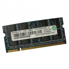 2Go RAM PC Portable SODIMM Ramaxel RMN1740EF48D8W-800Z DDR2 PC2-6400S 800MHz