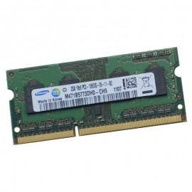 1Go RAM PC Portable SODIMM SAMSUNG M471B2873GB0-CH9 1206 DDR3 PC3-10600S 1333MHz